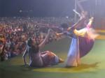 Multidão sedenta por Deus em Fortaleza.